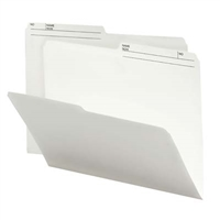 Smead Reversible File Folder, 1/2-Cut Printed Tab, Letter, Ivory 100/Bx (10146)