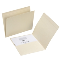 Smead Pocket Folder, Straight-Cut Tab, Letter, Manila (10315)