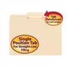 Smead File Folder, Reinforced 1/3-Cut Tab Center Pos, Letter (10336)