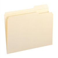 Smead File Folders, Reinforced 1/3-Cut Tab Right Position, Letter (10337)