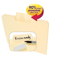 Smead Erasable SuperTab File Folders (10380)