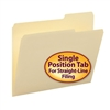 Smead File Folder, 2/5-Cut Tab Right Position, Letter, Manila (10385)