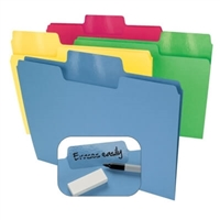 Smead Erasable SuperTab File Folders (10480)