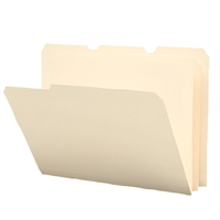Smead Poly Colored File Folders, Letter, Manila (10510)