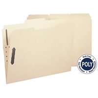 Smead Poly Fastener Folders (10545) Box of 24