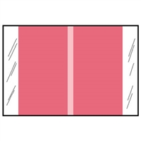 Col R Tab 11000 Series Designation Label, Pink, 500/Roll