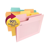Smead SuperTab Notes File Folders 12/Pk (11650)