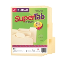 Smead SuperTab Folders (11920)