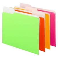 Smead Neon Colored File Folders (11925)