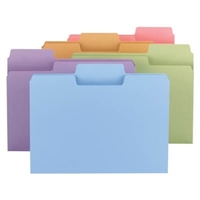 Smead Pastel Colored SuperTab Folders (11927)