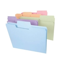 Smead SuperTab File Folder, Legal Size, Colors 100/Box (11962)