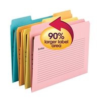 Smead SuperTab Notes Fastener Folders (11974)