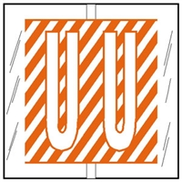 Col R Tab 12121 Label Letter U 500/Roll