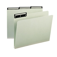 Smead Pressboard Folders with Metal Tab (13430) Box of 25