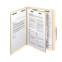 "Smead Classification File Folder, 1 Divider, 2"" Exp, Letter 10/Bx (13700)"