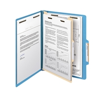 "Smead Classification File Folder, 1 Divider, 2"" Exp, Letter 10/Bx (13701)"