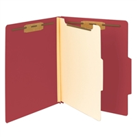 "Smead Classification File Folder, 1 Divider, 2"" Exp, Letter (13703)"
