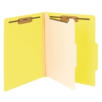 "Smead Classification File Folder, 1 Divider, 2"" Exp, Letter (13704)"
