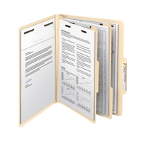 "Smead Classification File Folder, 2 Divider, 2"" Exp, Letter (14000)"