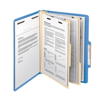 "Smead Classification File Folder, 2 Divider, 2"" Exp, Letter (14001)"