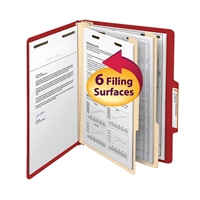 "Smead Classification File Folder, 2 Divider, 2"" Exp, Letter (14003)"