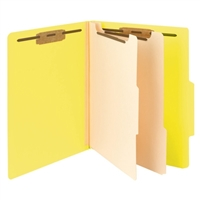 "Smead Classification File Folder, 2 Divider, 2"" Exp, Letter (14004)"