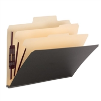 "Smead SuperTab Classification Folder, 2 Dividers, 2"" Exp. (14011)"