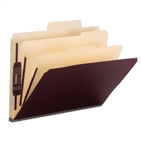 "Smead SuperTab Classification Folder, 2 Dividers, 2"" Exp. (14013)"