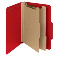 "Smead 100% Recycled Pressboard Classification Folder, 2"" Exp (14061)"