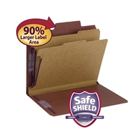 Smead SuperTab Classification File Folder with SafeSHIELD (14070)