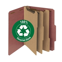 Smead 100% Recycled Pressboard Classification File Folder (14099)