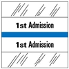 1st Admission Index Tab