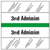 3rd Admission Index Tab