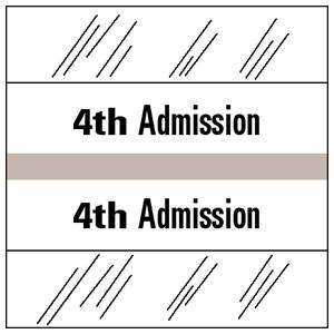 4th Admission Index Tab