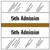 5th Admission Index Tab