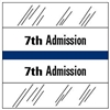 7th Admission Index Tab