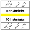 10th Admission Index Tab