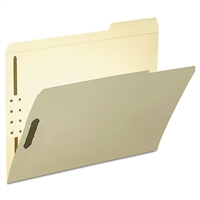 Smead Fastener File Folder, 2 Fasteners, Reinforced Tab Right (14538)