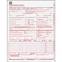 Healthcare Forms (CMS-1500) Claim Forms, 500/Pack