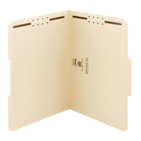 Smead 100% Recycled 2 Fastener File Folder, Manila (14547)