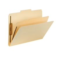 Smead Fastener Heavy-Duty File Folder with Divider, 2 Fasteners (14560)