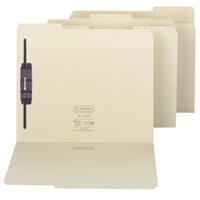 Smead Extra-Capacity Manila Folders with SafeSHIELD Fasteners (14575)