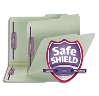 Smead Pressboard File Folder with SafeSHIELD Fasteners (14920)
