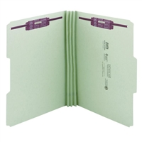 Smead Pressboard File Folder with SafeSHIELD Fasteners (14944)