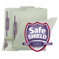 Smead SuperTab Pressboard Folders with SafeSHIELD Fasteners (14980)