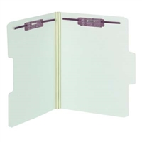 Smead SuperTab Pressboard Folders with SafeSHIELD Fasteners (14981)