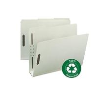 "Smead 100% Recycled Pressboard Fastener File Folder, 3"" Exp (15005)"