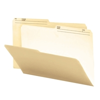 Smead File Folders with Reversible Tab (15145) Manila