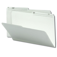 Smead File Folders with Reversible Tab (15146) Ivory