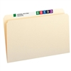 Smead File Folder, Straight-Cut, Legal Size, Manila, 100/Box (15300)